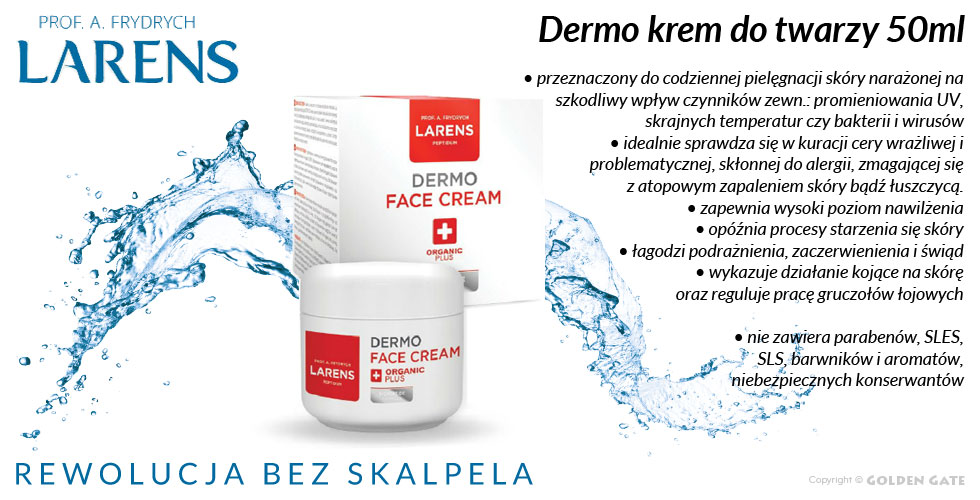 Dermo Krem do Twarzy Face Cream Skóra Atopowa