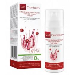 Inteligentnie Nawilżający Krem Do Twarzy na dzień GoCranberry 50 ml