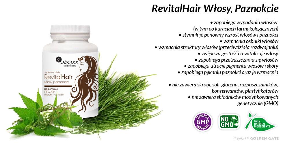 RevitalHair włosy paznokcie