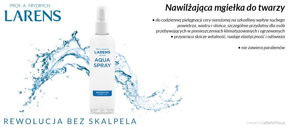 Mgiełka do twarzy Larens Paptidum Aqua Spray