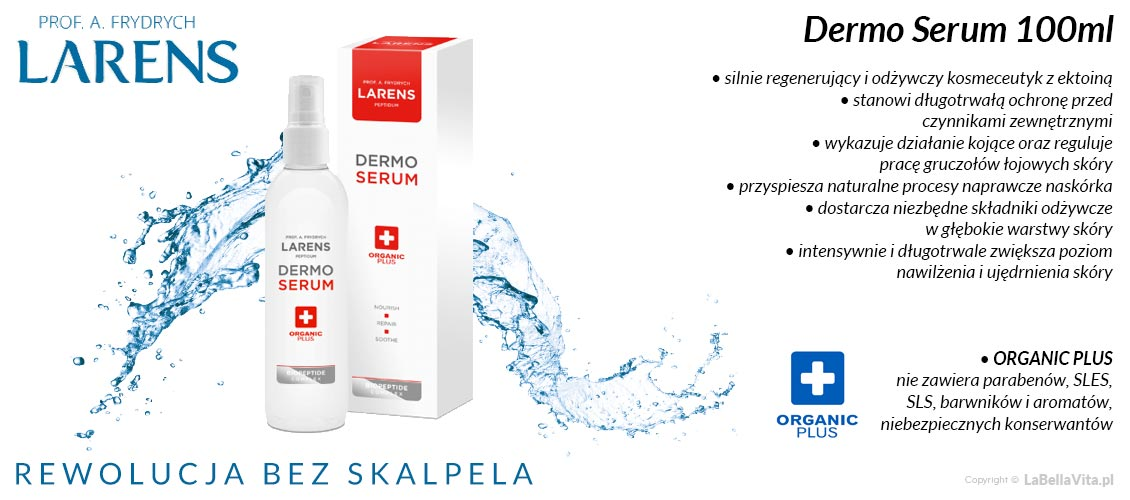 serum peptydowe z ektoina Larens Dermo Serum Spray