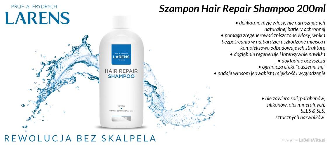 Szampony bez SLS Larens Peptidum Hair Repair Shampoo