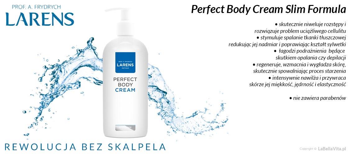 Balsam do Ciała na rozstępy i cellulit Larens Peptidum Perfect Body Cream