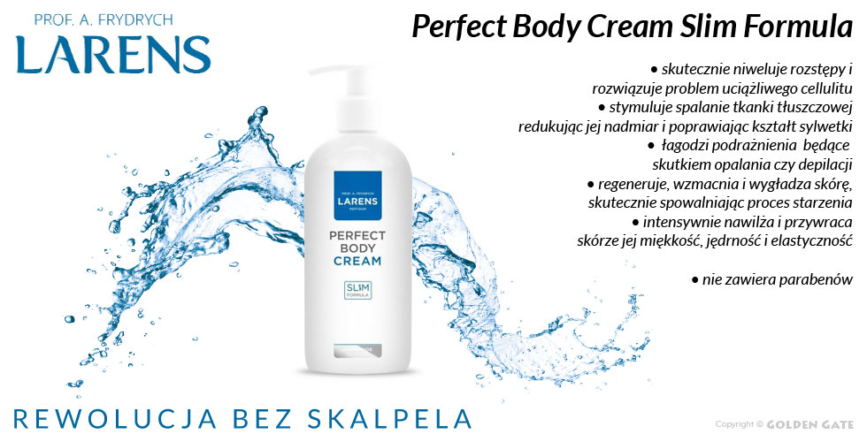 Krem na rozstępy i cellulit Larens Peptidum Perfect Body Cream Slim Formula