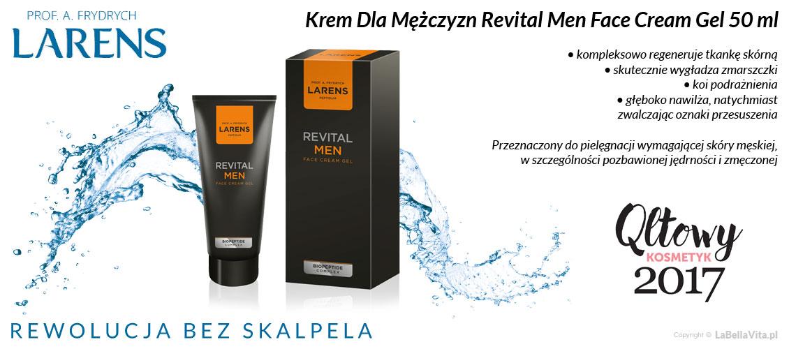 Krem dla mężczyzn Larens Revital Men Face Cream Gel