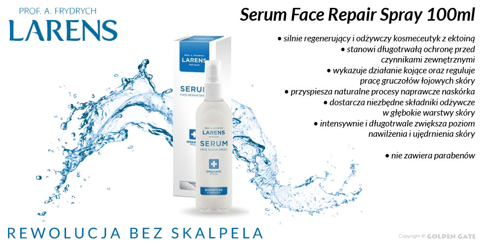 serum peptydowe z ektoina Larens Serum Face Repair Spray