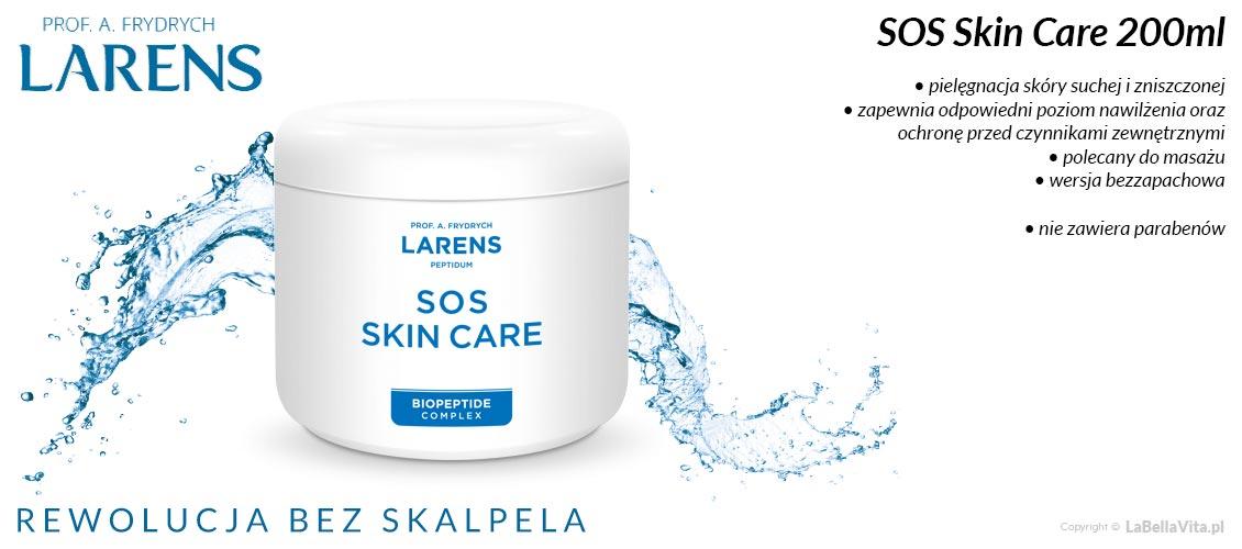 Larens SOS Skin Care 200ml regenerujący krem do skóry suchej i zniszczonej