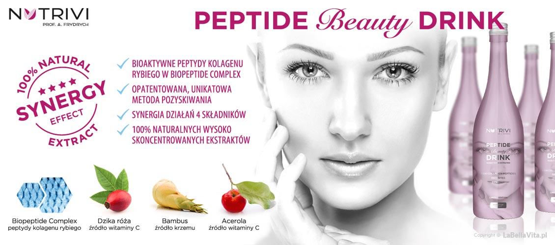 Kolagen do picia Nutrivi Peptide Beauty Drink